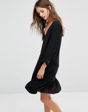 Gestuz Платье. Цвет: черный