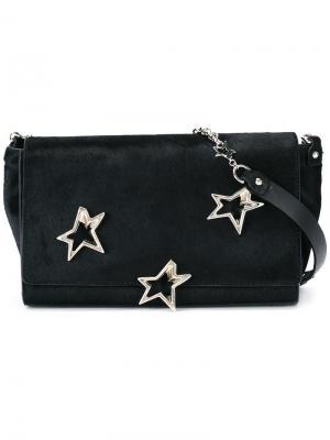 Средняя сумка на плечо Trestelle Corto Moltedo. Цвет: чёрный