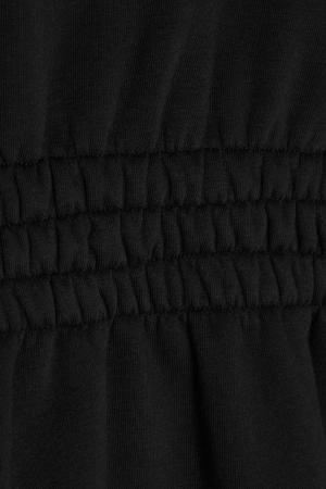 Черный свитшот с баской Alexandr Rogov. Цвет: черный