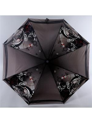 Зонт Zest. Цвет: черный, белый, сливовый
