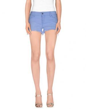 Повседневные шорты SIWY. Цвет: пастельно-синий