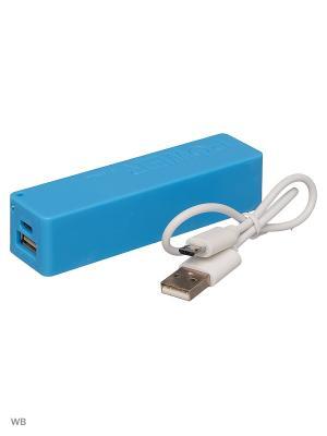 Зарядное устройчство Power Bank 2600 mAh TERRITORY. Цвет: голубой