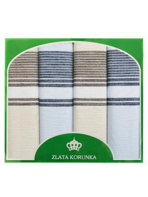 Платок носовой ZLATA KORUNKA. Цвет: кремовый