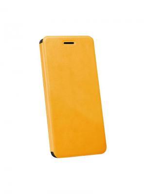 Чехол для Asus Zenfone Go skinBOX. Цвет: желтый