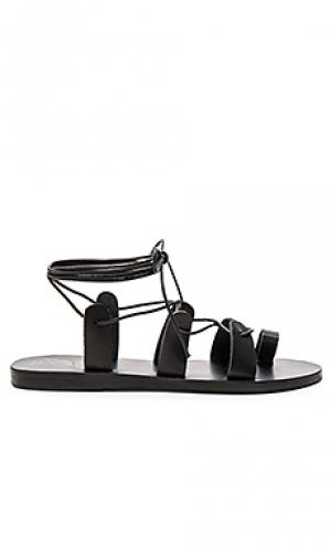 Сандалии alcyone Ancient Greek Sandals. Цвет: черный