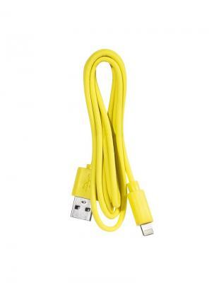 Дата-кабель Lightning IQ Format. Цвет: желтый