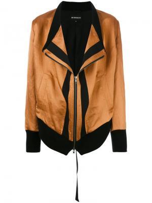 Куртка на молнии Ann Demeulemeester. Цвет: коричневый