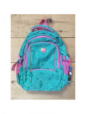 Рюкзак спортивный, цвет морской волны, PA8635, Pink Apple Gaoba. Цвет: морская волна