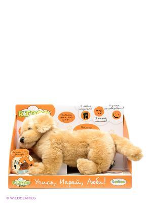 Собака TEEBOO 91210R-BGD цвет бежевый MSN TOYS. Цвет: бежевый