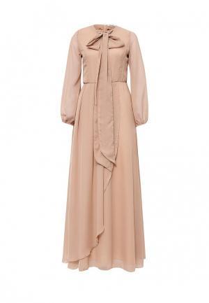 Платье C.H.I.C.. Цвет: розовый