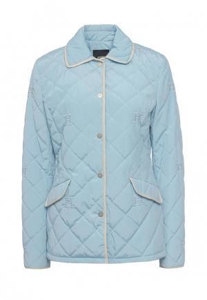 Куртка утепленная Husky. Цвет: голубой