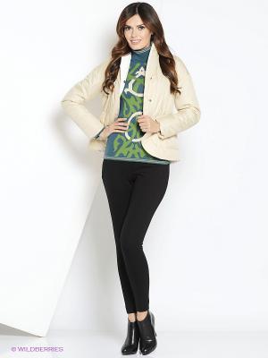 Куртка Анна Чапман. Цвет: бежевый