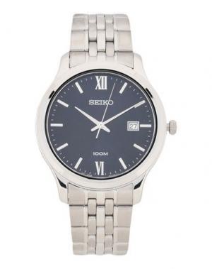 Наручные часы SEIKO. Цвет: темно-синий