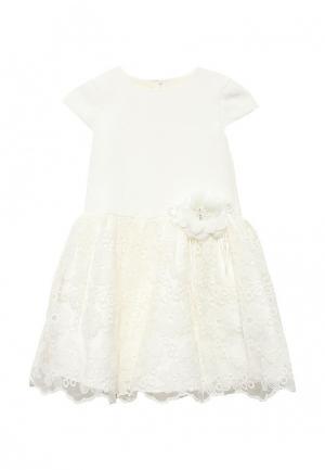 Платье Molly Rou. Цвет: белый
