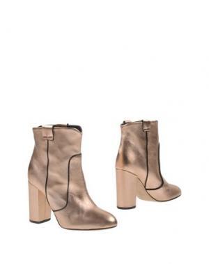 Полусапоги и высокие ботинки CHIARINI BOLOGNA. Цвет: медный