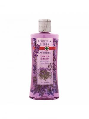 Шампунь для волос с ароматом лаванды Lavender BOHEMIA. Цвет: фиолетовый