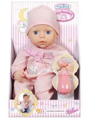 Игрушка my first Baby Annabell Кукла с бутылочкой ZAPF. Цвет: розовый
