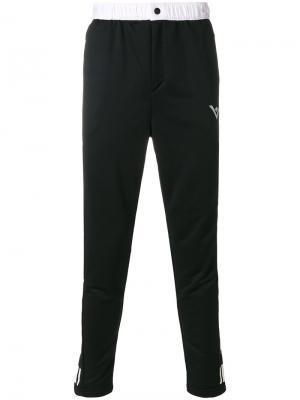 Спортивные брюки Adidas By White Mountaineering. Цвет: чёрный