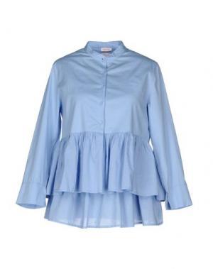 Pубашка ROSSOPURO. Цвет: сиреневый