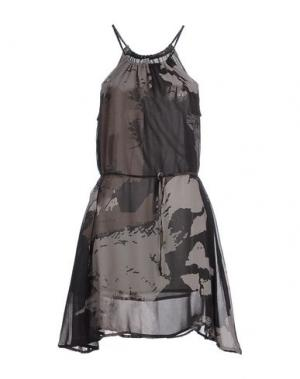 Короткое платье RA-RE. Цвет: серый