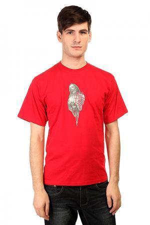Футболка  Shirt Family Red Apo. Цвет: красный