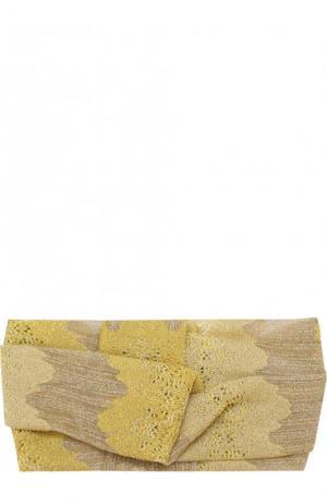 Вязаная повязка Missoni. Цвет: желтый