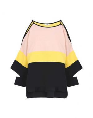 Блузка EDUN. Цвет: желтый