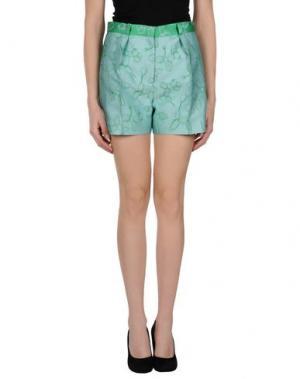Повседневные шорты OSTWALD HELGASON. Цвет: светло-зеленый