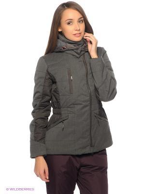 Куртка Salewa. Цвет: серый