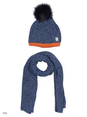 Комплект Agbo. Цвет: синий, оранжевый