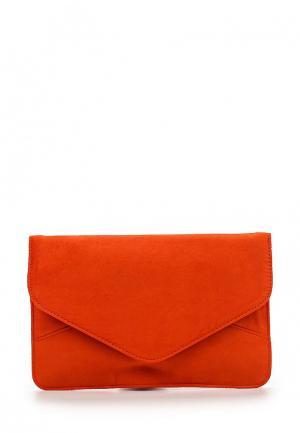 Клатч Dorothy Perkins. Цвет: оранжевый