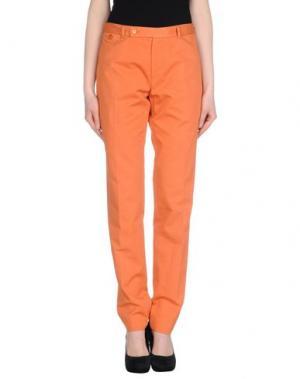 Повседневные брюки CARVEN. Цвет: оранжевый