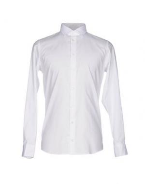 Pубашка RICHARD JAMES. Цвет: белый