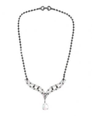 Ожерелье TOM BINNS. Цвет: черный