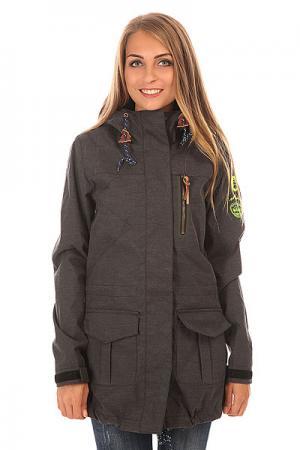 Куртка женская  Nordic Black Picture Organic. Цвет: серый