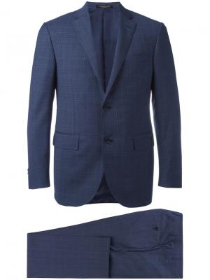 Two piece suit Corneliani. Цвет: синий