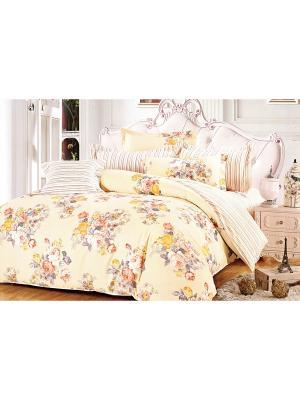 Комплект постельного белья, Семейный Sofi de Marko. Цвет: желтый