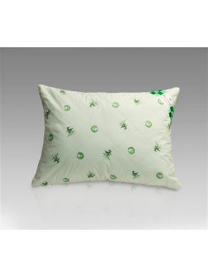 Подушка Бамбук 50х70 Василиса. Цвет: зеленый