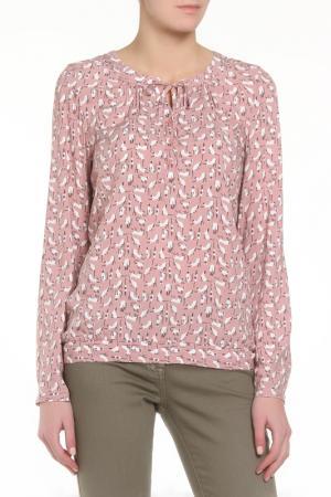 Блузка ZERO. Цвет: бежевый