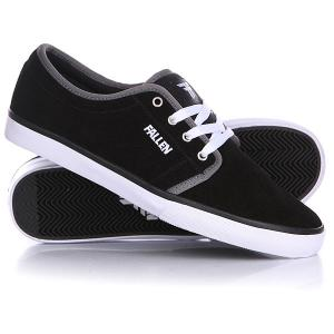Кеды кроссовки низкие  Forte Ii Black/White/Grey Fallen. Цвет: черный