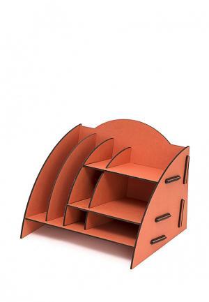 Система хранения для канцелярии Homsu. Цвет: оранжевый
