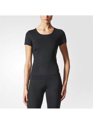 Футболка спортивная жен. THE PERF TEE Adidas. Цвет: черный