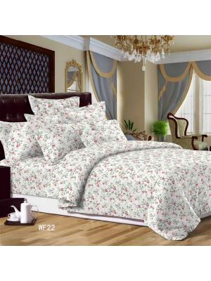 Комплект постельного белья, сатин, 2-спальный, пододеяльник на молнии Letto. Цвет: светло-желтый, бежевый, зеленый, розовый, серый