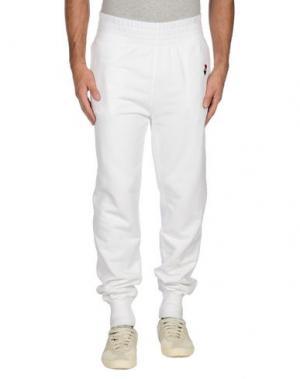Повседневные брюки BULK. Цвет: белый