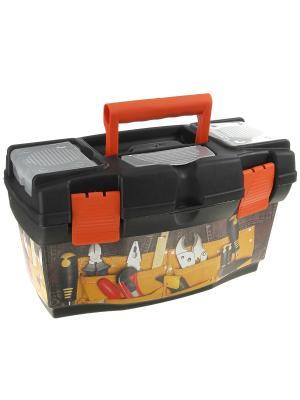 Ящик Master Jeans 16 Blocker. Цвет: темно-серый, оранжевый