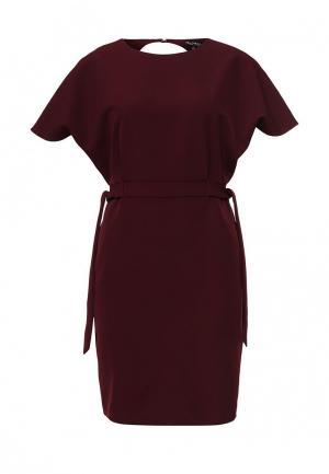 Платье Miss Selfridge. Цвет: бордовый