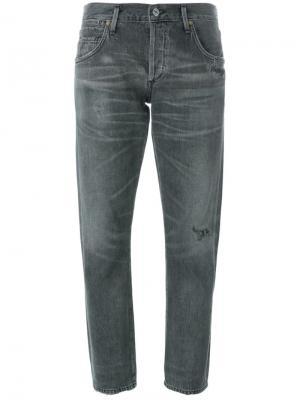 Укороченные джинсы Emerson Citizens Of Humanity. Цвет: серый