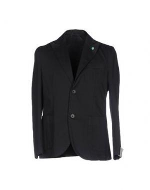 Пиджак BARBATI. Цвет: стальной серый