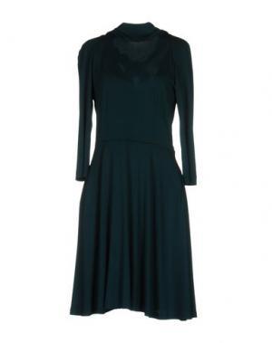 Платье до колена GIO' GUERRERI. Цвет: цвет морской волны