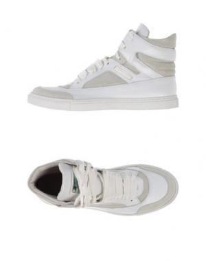 Высокие кеды и кроссовки ELISABETTA FRANCHI. Цвет: белый